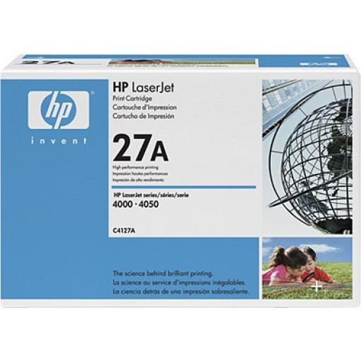 HP C4127A, Toner Cartridge Black, 4000, 4050- Original