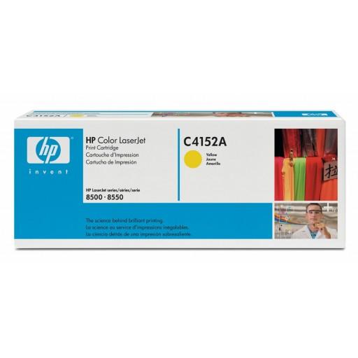 HP 8500 Toner Cartridge - Yellow Genuine (C4152A)