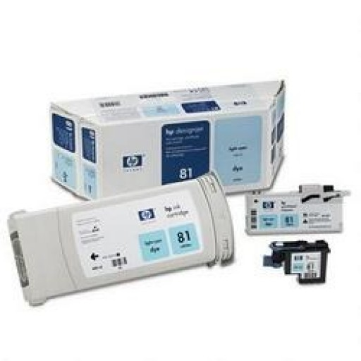 HP C4994A No.81 Light Cyan Printhead & Ink Cartridge Multipack Genuine