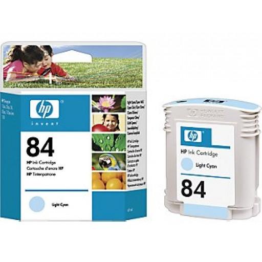 HP C5017A No.84 Ink Cartridge - HC Light Cyan Genuine