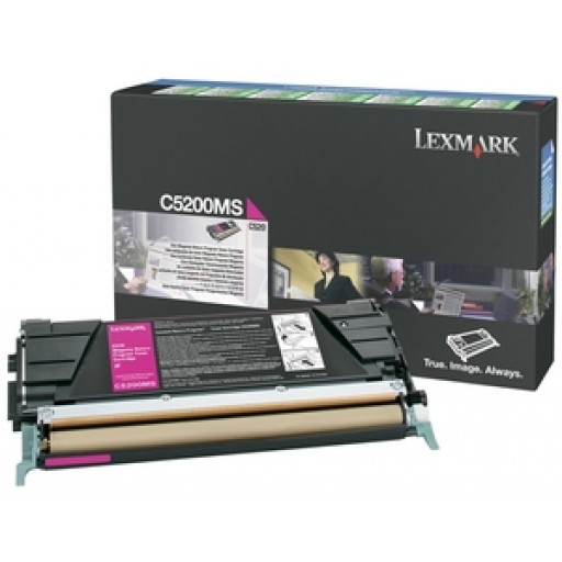 Lexmark C5200MS, Toner Cartridge Light User Magenta, C530DN- Original
