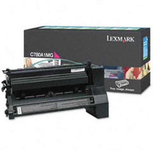Lexmark C780A1MG, Toner Cartridge- Magenta, C780, C782- Original