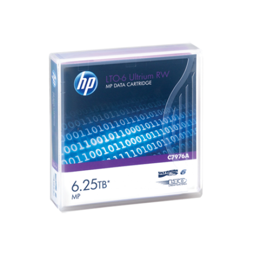 HP LTO-6 Ultrium 6.25TB MP RW Data Cartridge