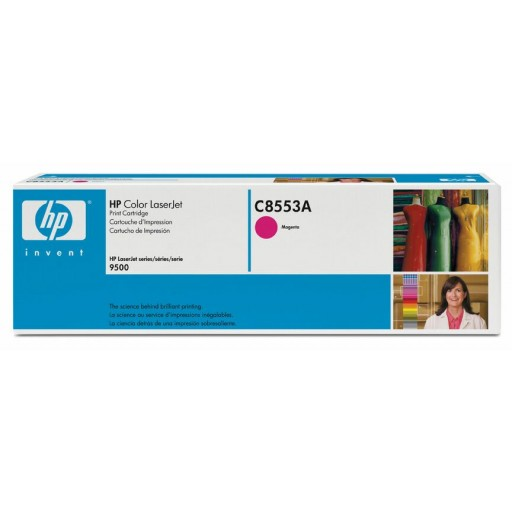 HP, C8553A, Toner Cartridge- Magenta, LaserJet 9500- Original