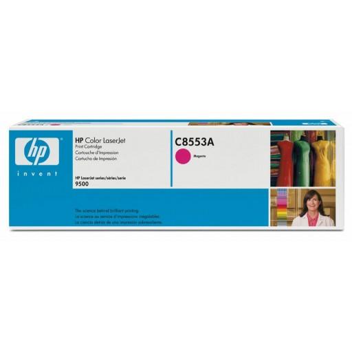 HP, C8553A, Toner Cartridge- Magenta, LaserJet 9500- Original