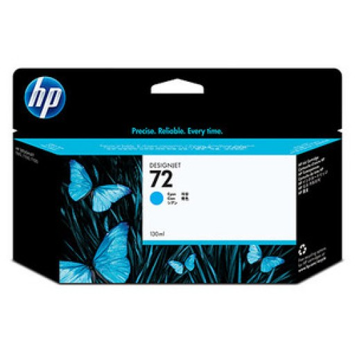 HP C9371A No.72 Ink Cartridge - HC Cyan Genuine