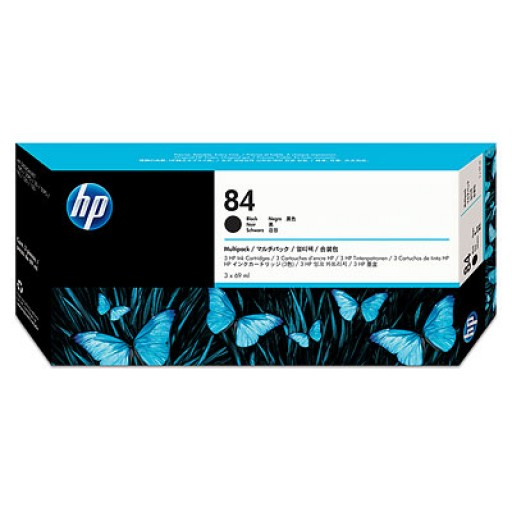 HP C9430A No.84 Ink Cartridge - Black Multipack Genuine