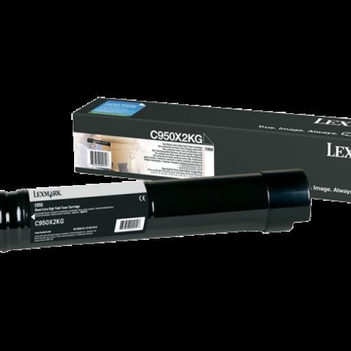 Lexmark C950X2KG, C950 Toner Cartridge - Black