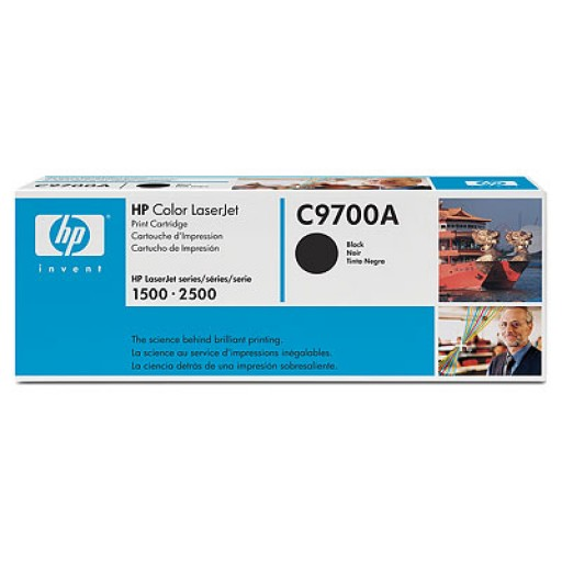 HP C9700A, Toner Cartridge Black, 1500, 1550, 2500- Original