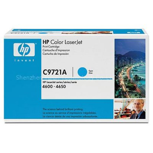 HP C9721A, Toner Cartridge- Cyan, 4600, 4610, 4650- Original