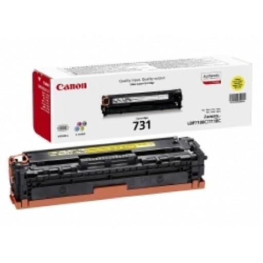 Canon 6269B002, Toner Cartridge- Yellow, i-SENSYS LBP-7100CN, LBP-7110CW, MF-8230CN, MF-8280CW- Orioginal