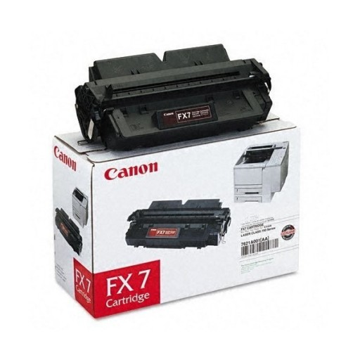 Canon 7621A002BA, FX7 Toner Cartridge, LC 710, 720, 730 - Black Genuine