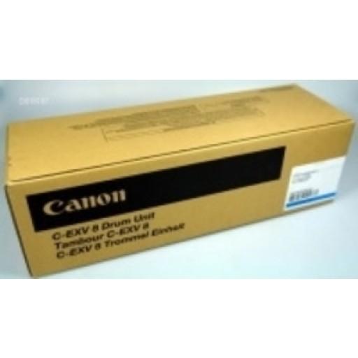 Canon 7624A002AA, C-EXV8 Drum Unit, CLC 2620, 3200, 3220, IR C2620, C3200, C3220 - Cyan Genuine