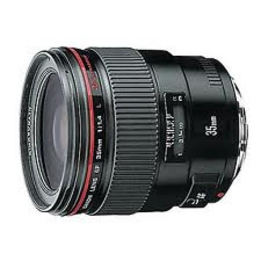 Canon Ef35mm f/1.4 L Usm Lens