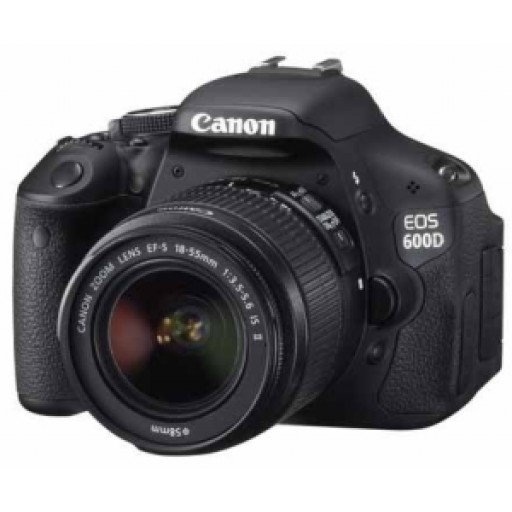 Canon EOS 600D Digital SLR Camera with 18-55 DC III Lens