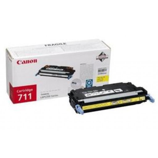 Canon 1657B002AA, Toner Cartridge- Yellow, LBP5300, 5360, 8450, MF9130, 9170, 9220- Genuine