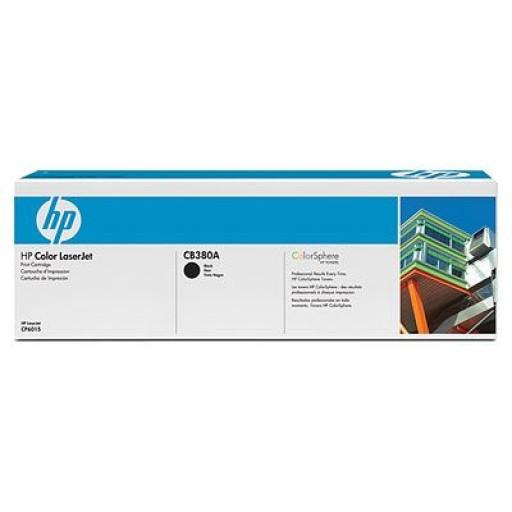HP CB380A, Toner Cartridge- Black, CP6015, CM6030, CM6040- Original