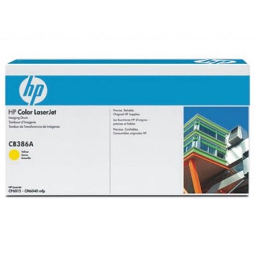 HP CB386A, Laser Imaging Drum- Yellow, CP6015, CM6030, CM6040- Original