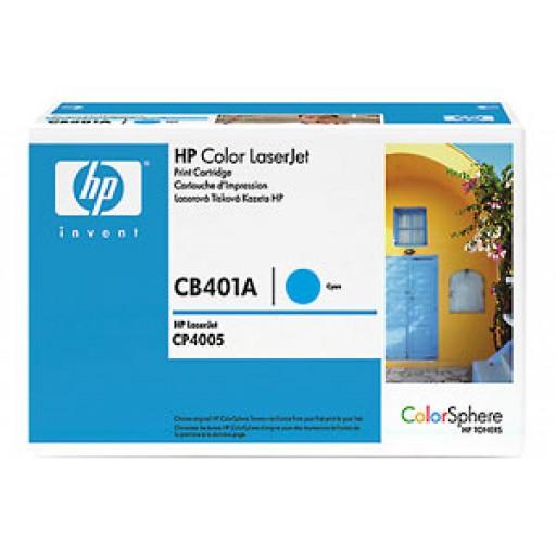 HP CP4005 Toner Cartridge - Cyan Genuine (CB401A)