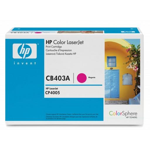 HP CP4005 Toner Cartridge - Magenta Genuine (CB403A)