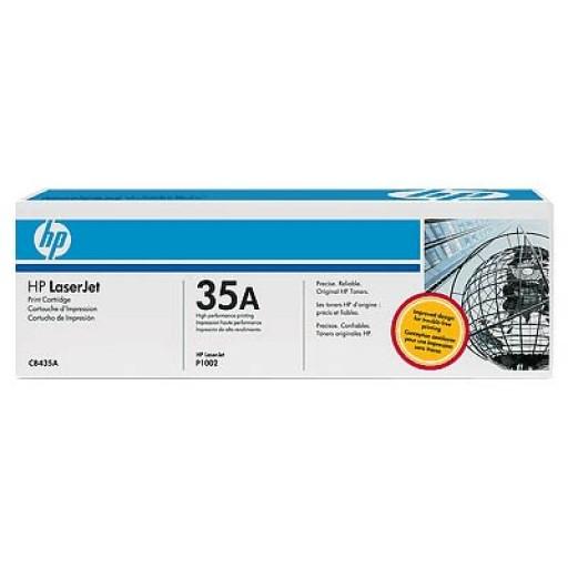 HP P1005, P1006, P1007, P1008, P1009 Toner Cartridge - Black Genuine (CB435A)