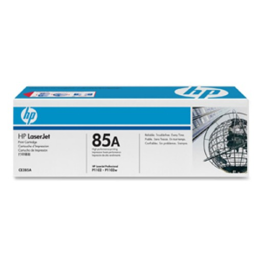 HP CE285A, Toner Cartridge- Black, M1132, M1212, M1217, P1100, P1102- Genuine