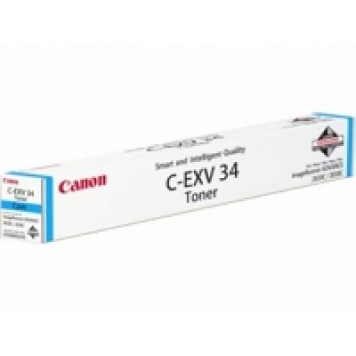 Canon 3783B002AA, Toner Cartridge Cyan, IR C2025i, C2220i, C2225i, C2020i- Original