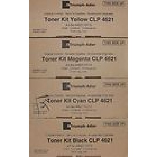 Triumph-Adler CLP4626, CLP4630 Toner Cartridge - Value pack Genuine