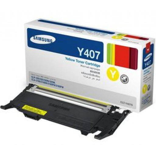 Samsung CLT-Y4072S Toner Cartridge - Yellow Genuine