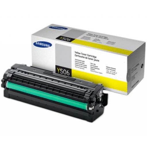 Samsung CLT-Y506L/ELS Toner Cartridge - Yellow