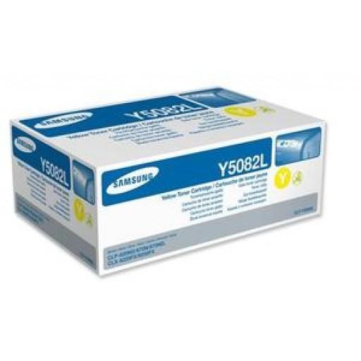 Samsung CLT-M5082L Toner Cartridge - HC Yellow Genuine