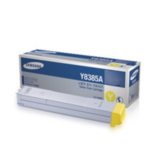 Samsung CLX-Y8385A Toner Cartridge - Yellow Genuine