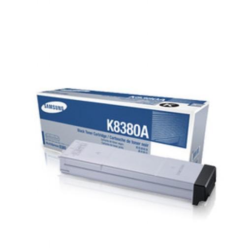 Samsung CLX-K8380A Toner Cartridge - Black Genuine
