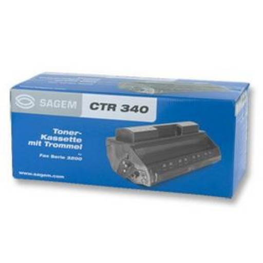 Sagem CTR340 Toner Cartridge - Black Genuine