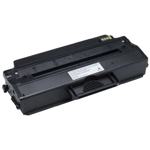 Dell 593-11109, B1260/B1265 High Capacity Toner Cartridge - Black Genuine