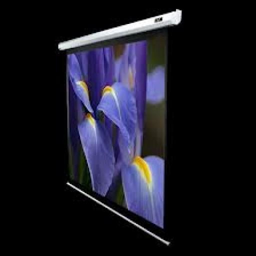 Elite VMAX100XWV2-WHITE Electric VMax Projection Screen