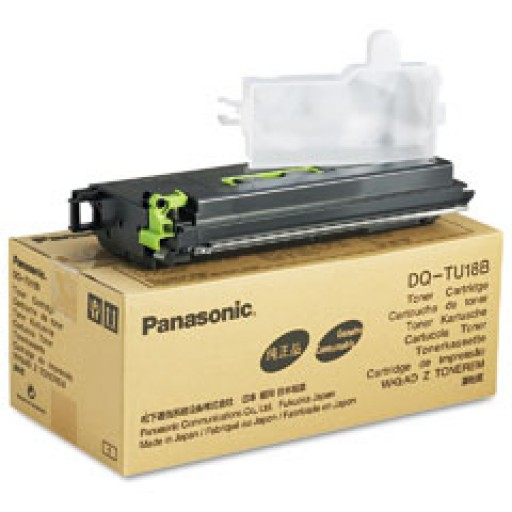 Panasonic DQ-TU18B Toner Cartridge - Black Genuine
