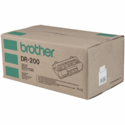 Brother FAX8000, FAX8060, FAX8200, FAX8250, FAX8650, HL720, HL730, HL760, MFC9000, MFC9050, MFC9060, MFC9060, MFC9550 Imaging Drum Unit - Black Genuine (DR200)