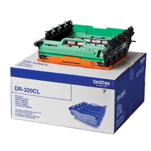 Brother DR320CL, Toner Cartridge- 4 Colour Drum Unit, DCP9055, 9270, HL4140, 4150, 4570, MFC9460- Genuine