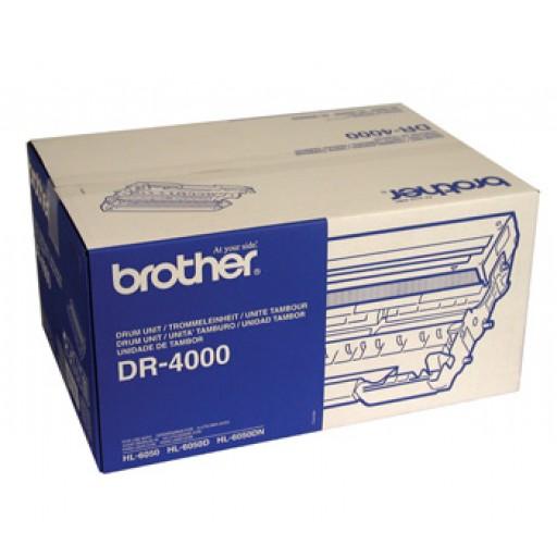 Brother DR4000, Imaging Drum Unit Black, HL6050- Original