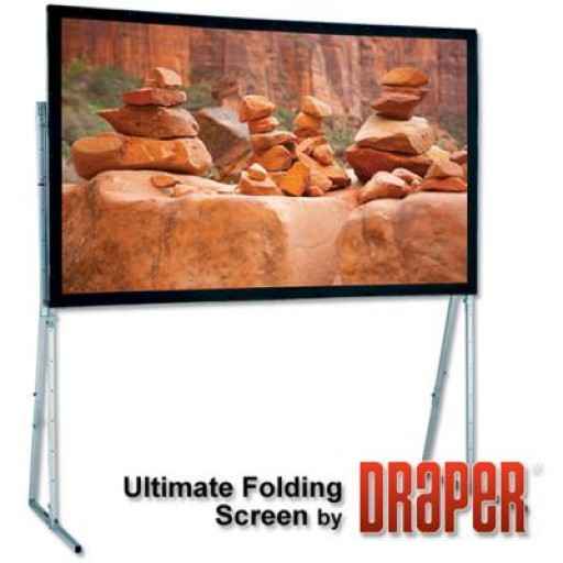 Draper Group Ltd DR-242016-BLUEVELOUR UFS Drape Kit Projection Screen