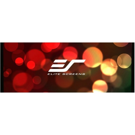 Elite R120WH1-BLACK EZ Frame Fixed Frame Projection Screen