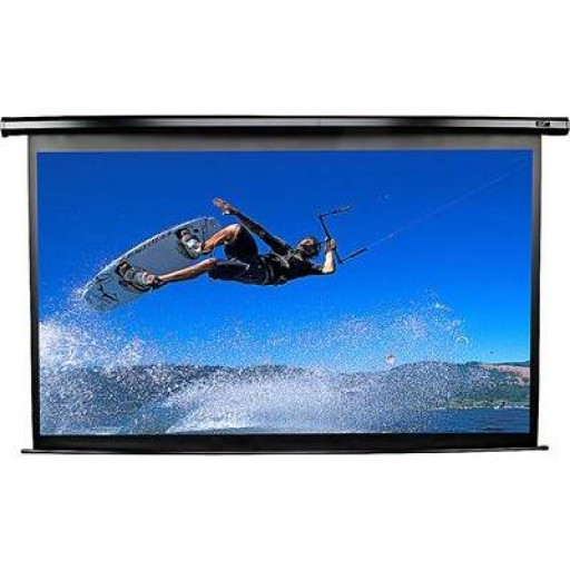 Elite VMAX92UWH2-BLACK Electric VMax Projection Screen