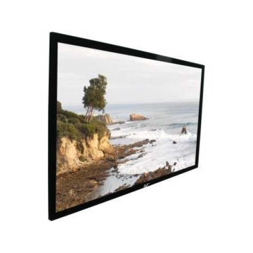 Elite  R165WH1-BLACK Fix Frame Projection Screen
