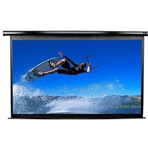 Elite PM124HT PowerMAX Pro Series Projection Screen
