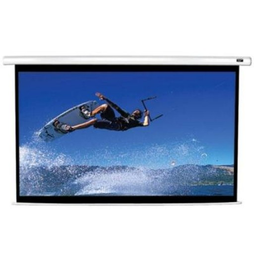 Elite VMAX92XWV2-WHITE Electric VMax Projection Screen
