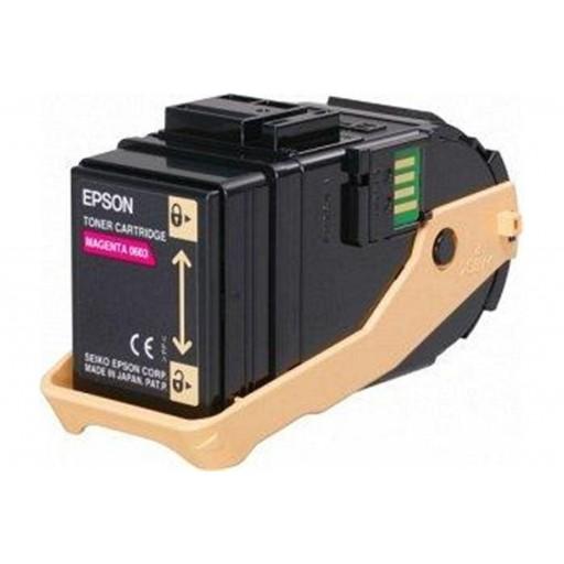 Epson C13S050603 Toner Cartridge, AcuLaser C9300 - Magenta Genuine
