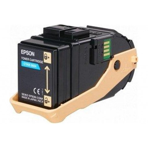 Epson C13S050604 Toner Cartridge, AcuLaser C9300 - Cyan Genuine