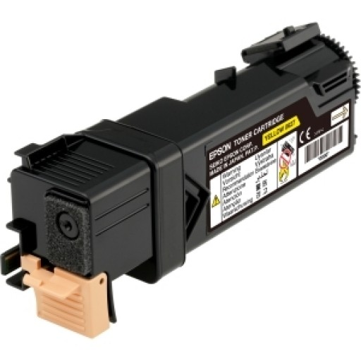 Epson C13S050627 Toner Cartridge, AcuLaser C2900, CX29 - Yellow Genuine
