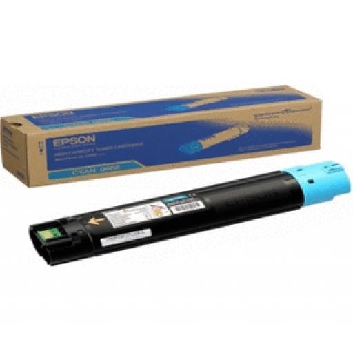 Epson C13S050658 Toner Cartridge, Workforce AL-C500 - HC Cyan Genuine